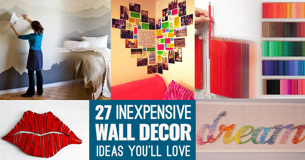 Cool, Cheap but Cool DIY Wall Art Ideas for Your Walls on Creative:kqmwrvdqiag= Wall Art Ideas  id=30186