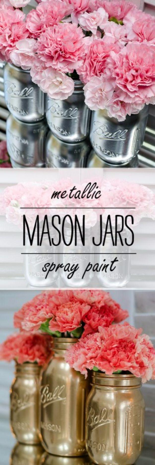 50 Cute DIY Mason Jar Crafts DIY Projects For Teens