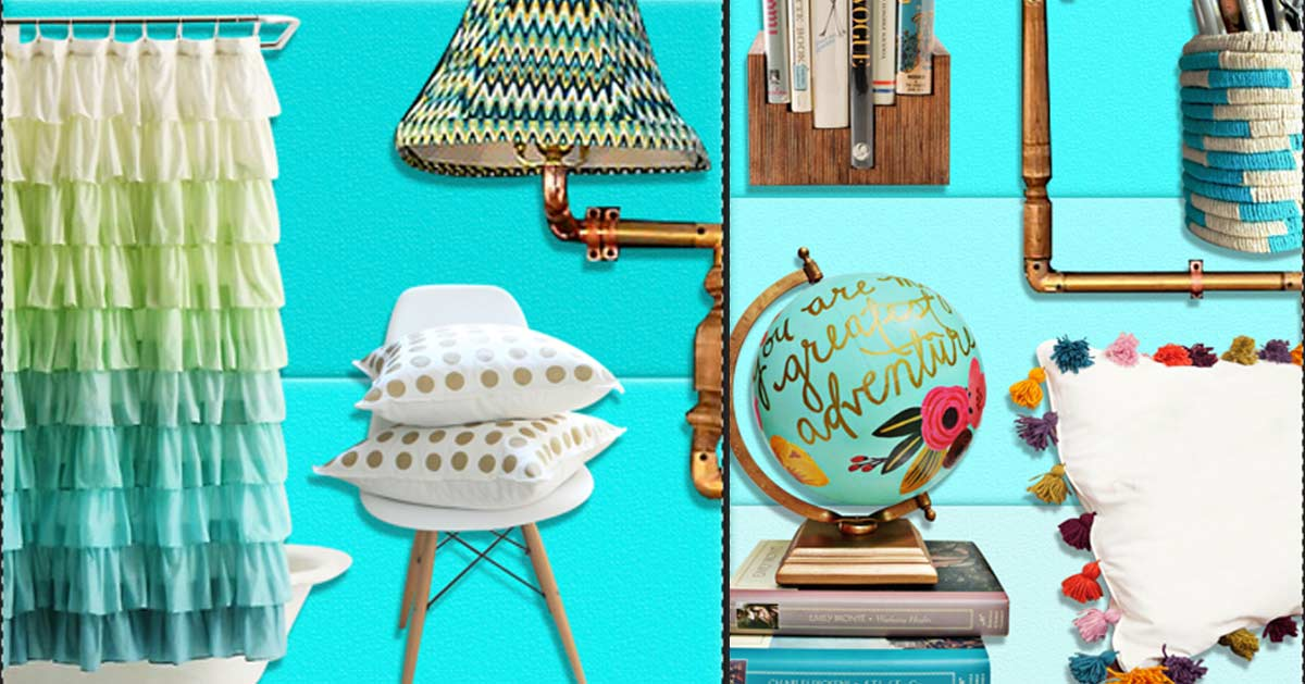 37 Insanely Cute Teen Bedroom Ideas for DIY Decor | Crafts ... on Teenage Room Decor Things  id=84509