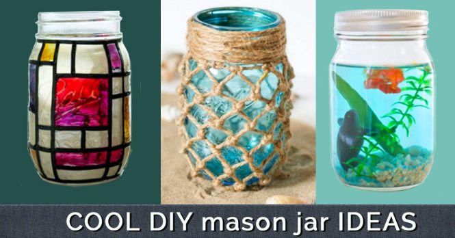Project Which Is Amazing Its Simple Yet Looks Magnificent To Create A Vintage Photo Mason Jar Take Black White Photograph And Put It In
