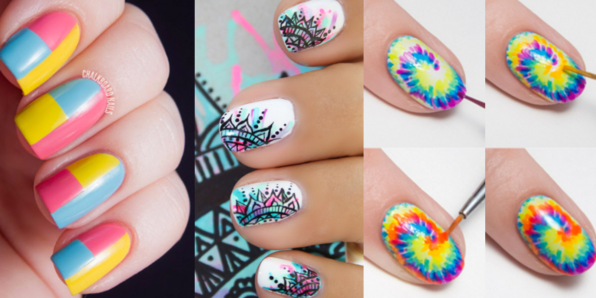 28 Brilliantly Creative Nail Art Patterns Diy S For