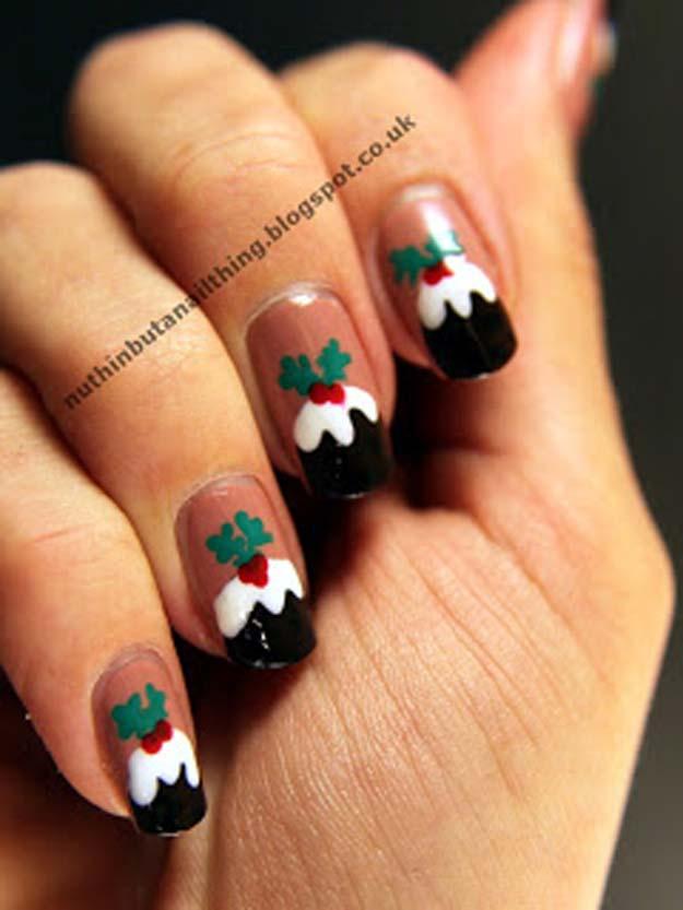 46 Creative Holiday Nail Art Patterns Diy S For
