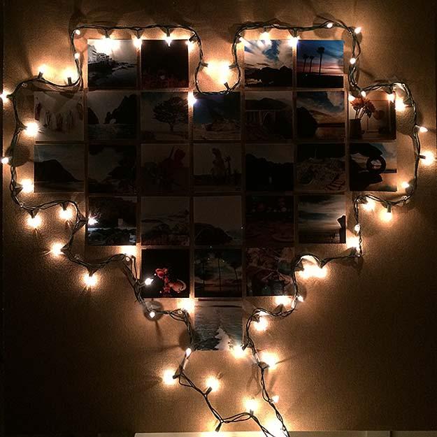 Lighted Canvas Christmas Wall Decor