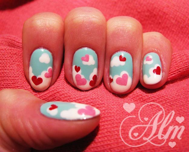 Valentine Nail Art Ideas Love Is In The Air Cute And Cool Looks For