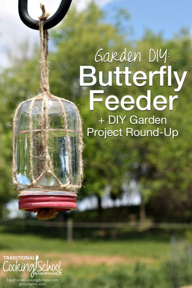 DIY Ideas With Butterflies - Make A Butterfly Feeder - Cute and Easy DIY Projects for Butterfly Lovers - Wall and Home Decor Projects, Things To Make and Sell on Etsy - Quick Gifts to Make for Friends and Family - Homemade No Sew Projects- Fun Jewelry, Cool Clothes and Accessories #diyideas #butterflies #teencrafts