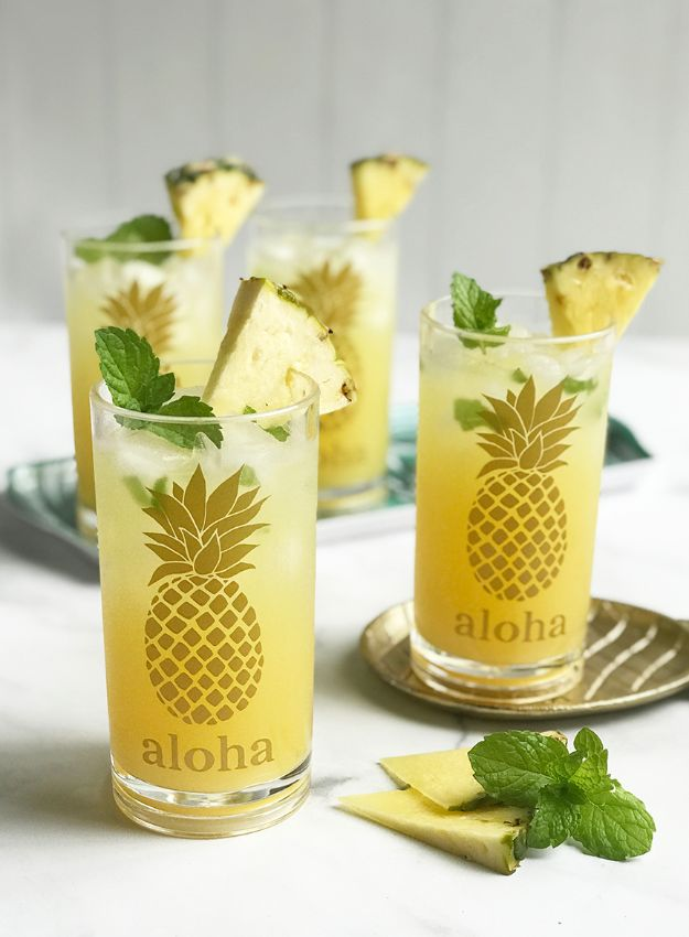 Ananasambachten - DIY Ananasbrillen - Leuke ambachtelijke projecten die coole DIY-geschenken maken - wanddecor, slaapkamerkunst, sieradenidee