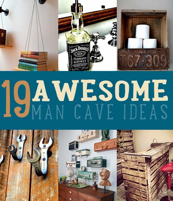 Cheap man cave decorating ideas for Cheap man cave decorating ideas