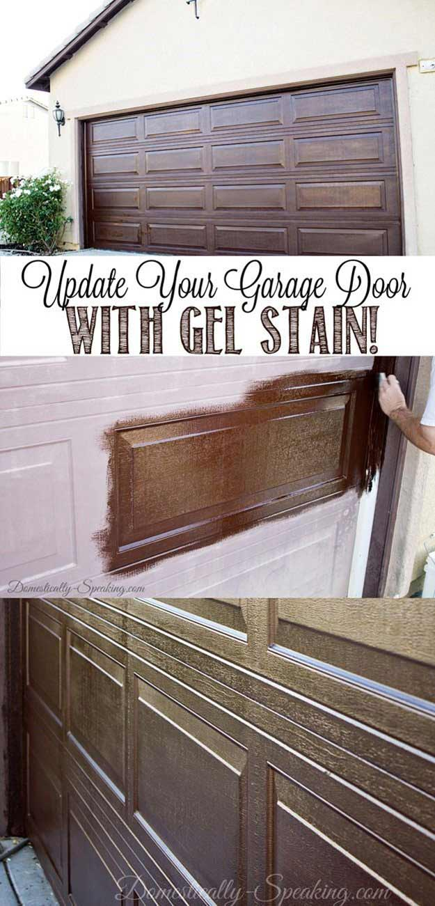 Curb Appeal on a Budget | Home Decor Ideas on Garage Door Colors Ideas  id=16307