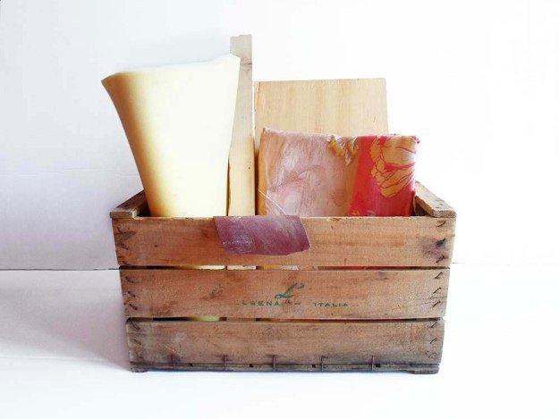 Wooden Crate Into a Storage Ottoman DIYReady.com | Easy DIY Crafts ...