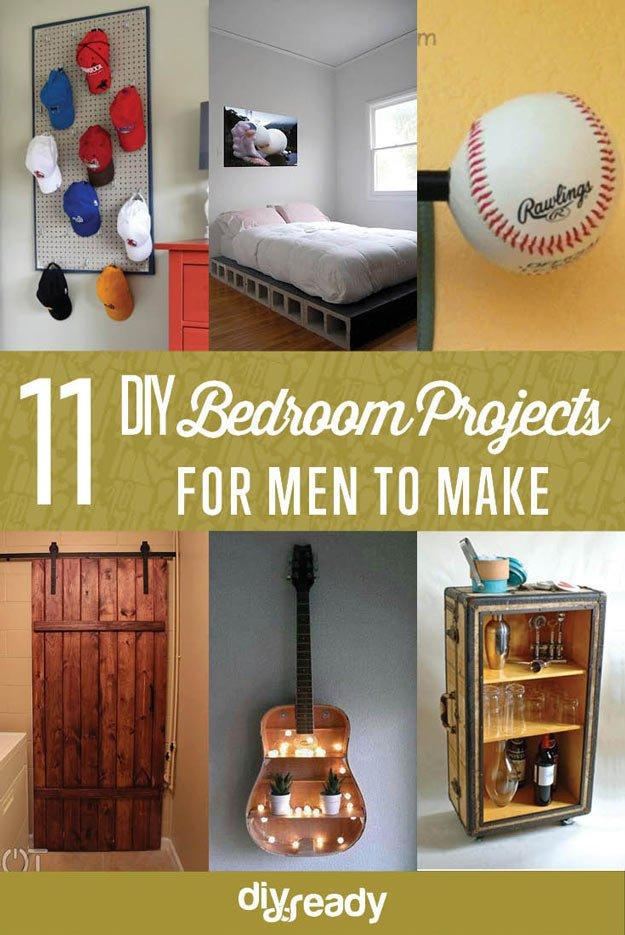 DIY Bedroom Projects For Men DIY Ready