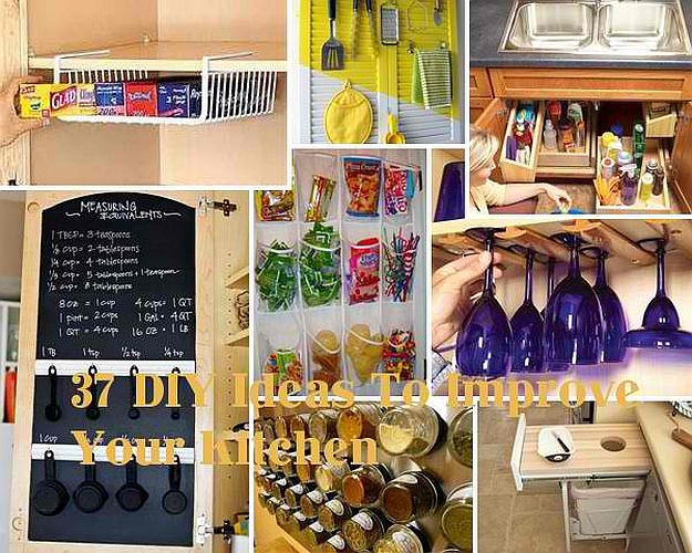 15 DIY Kitchen Ideas For Organized Culinary Creations