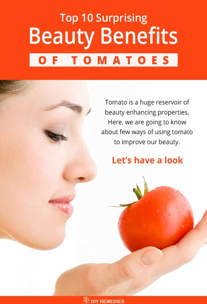 Surprising Beauty Benefits of Tomatoes