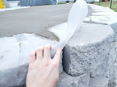 how retaining walls fail concrete