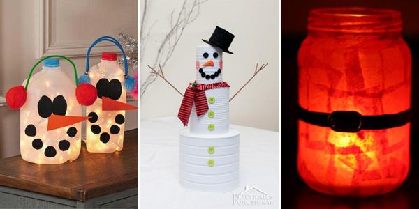 22 Amazing Trash To Treasure Christmas Crafts