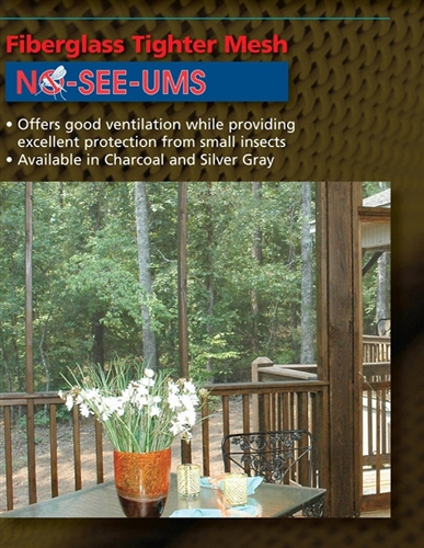 Phifer No-See-Um 20X20 Insect Screen Mesh (by ft.)