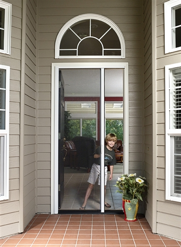 Custom Single Panel Retractable Screen Door Kit