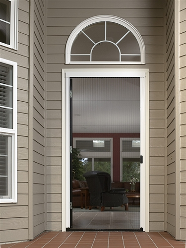 Pleated Single Panel Retractable Door Kit