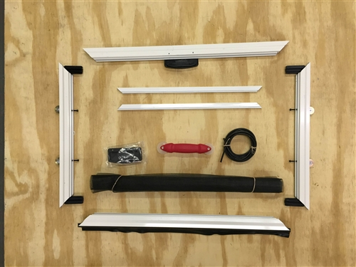 Custom Heavy Duty Sliding Patio Screen Door Kit