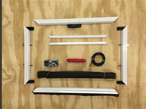 Superieur Custom Heavy Duty DIY Sliding Patio Screen Door Kit **new Mitered Corners**