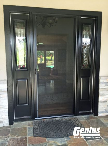 Custom Retractable Screen Door