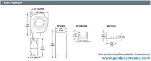 Standard Single Retractable Door Profile