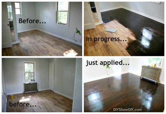 Do It Yourself Refinishing Hardwood Floors Without Sanding ...