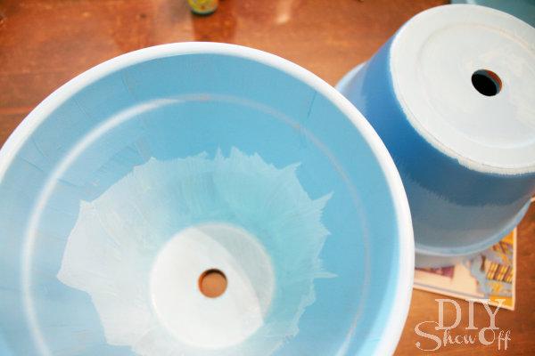 painting flower pots