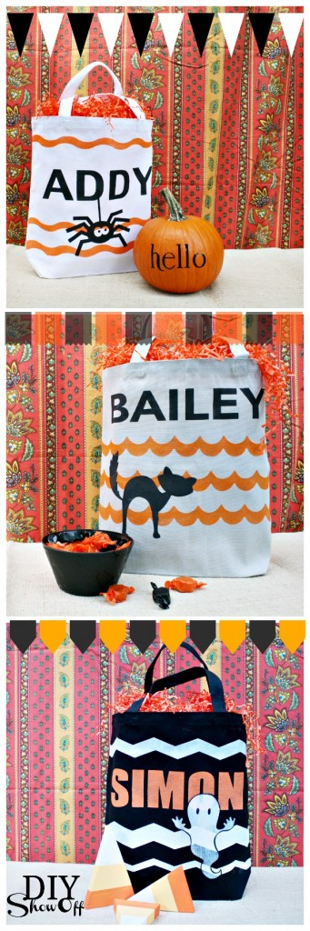 DIY trick-or-treat bags