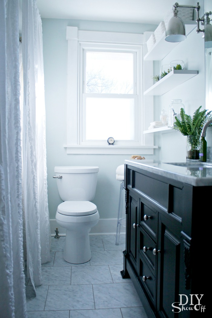 Bathroom Makeover DIY Show Off DIY Decorating And