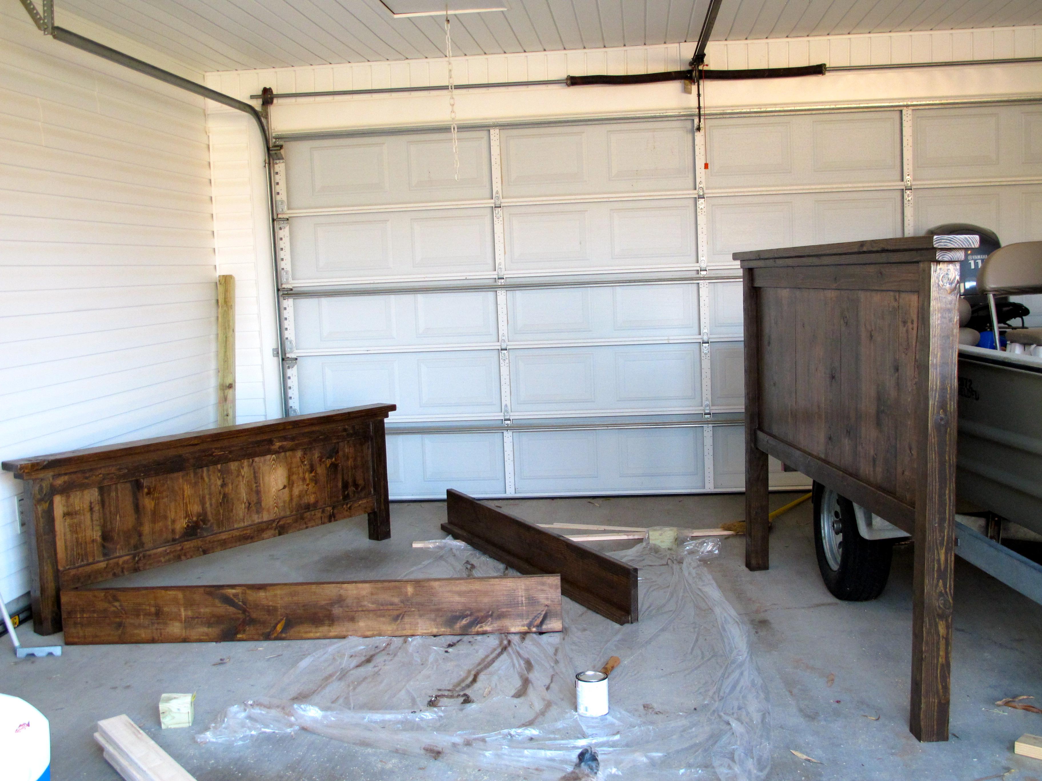 Diy Pottery Barn Farmhouse Bed Diystinctly Made