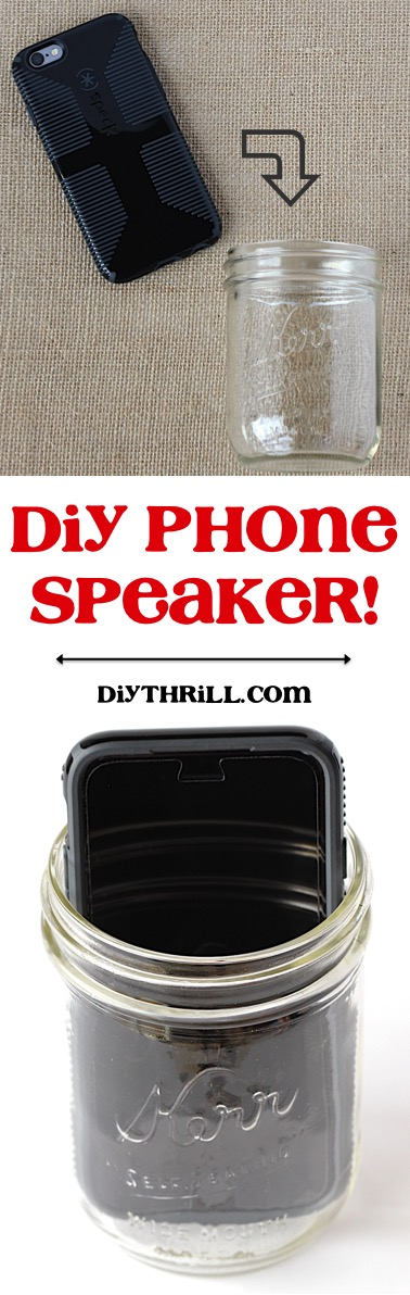 DIY Phone Speaker from DIYThrill.com