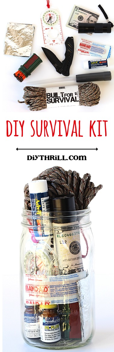 Homemade Survival Kit from DIYThrill.com