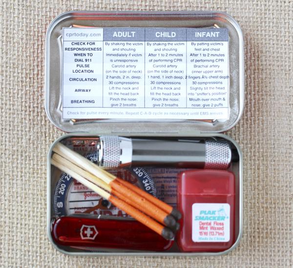 DIY Mini Survival Kit