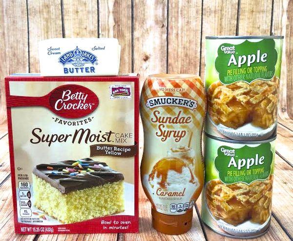 Crock Pot Caramel Apple Dump Cake Recipe