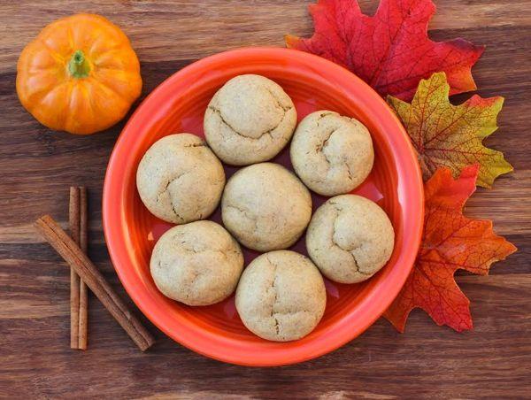 Pumpkin Spice Cake Mix Cookies Recipe