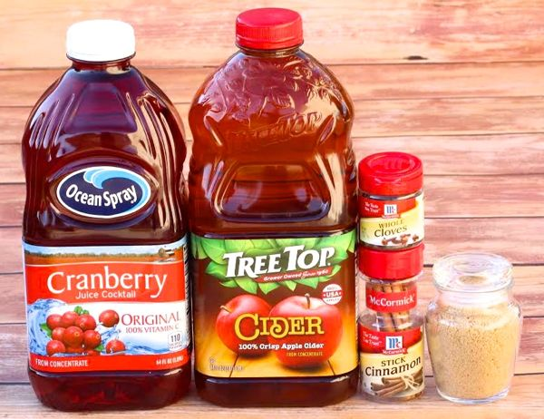 Crock Pot Cranberry Apple Cider Recipe
