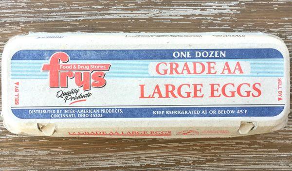 fire starter in egg carton