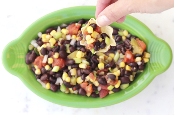 black bean corn dip