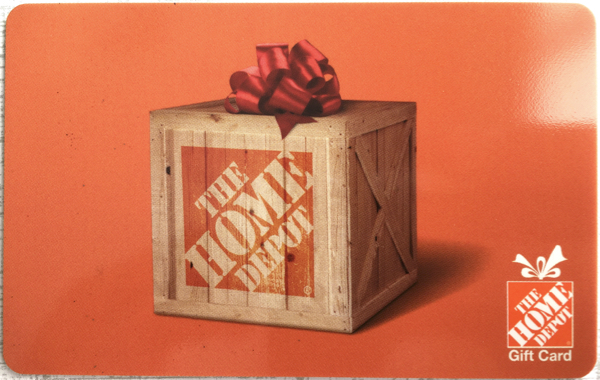 Earn Home Depot Gift Cards
