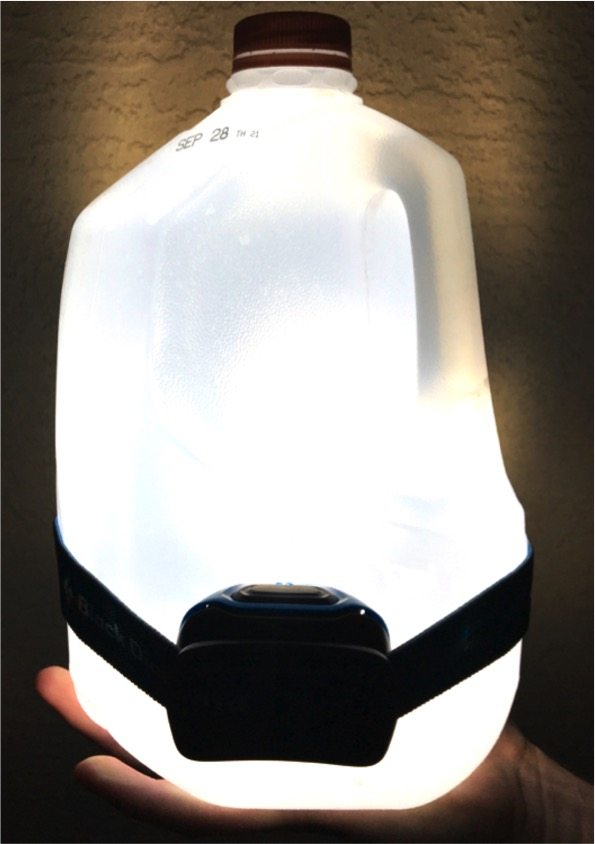 DIY Milk Jug Lantern
