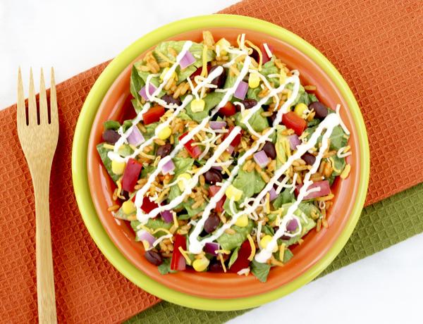 Easy Southwestern Salad Recipe