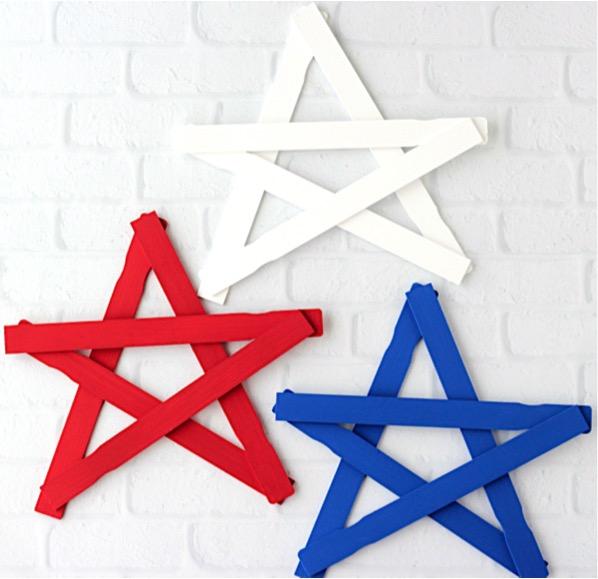 DIY Paint Stick Star