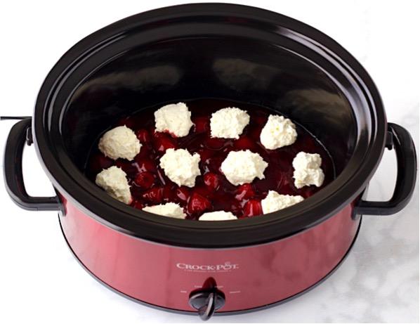Strawberry Cake Mix and Cream Cheese