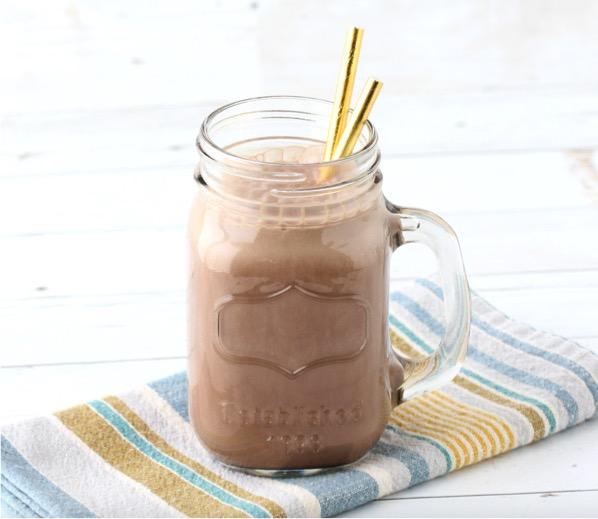 Triple Chocolate Protein Shake