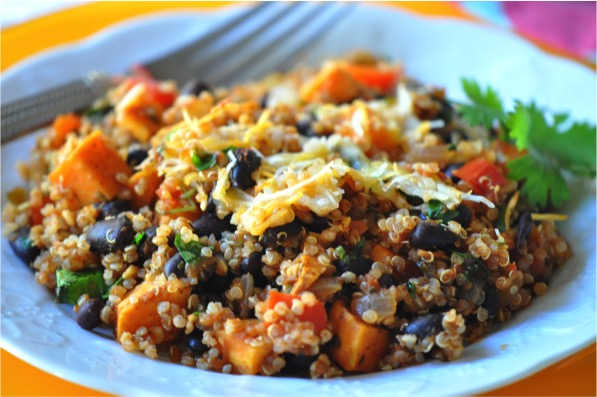 Southwestern Veggie Quinoa Bowl