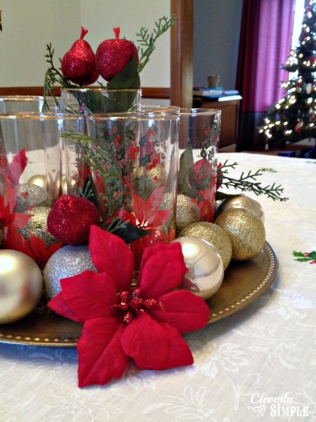 Christmas Centerpieces Dining Room Tables