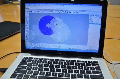 Gear design and parametric modeling in Rhino and Grasshopper