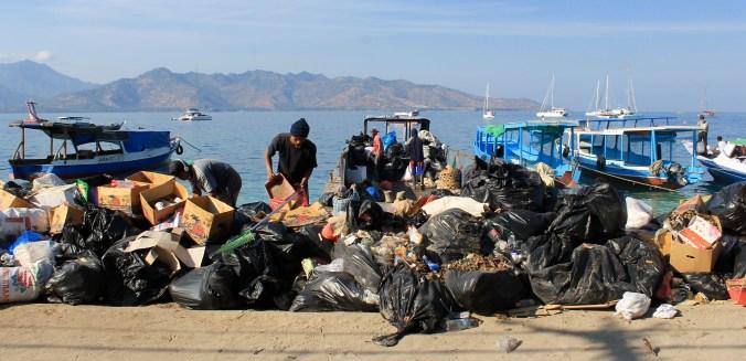 Rubbish Gili Air Lombok