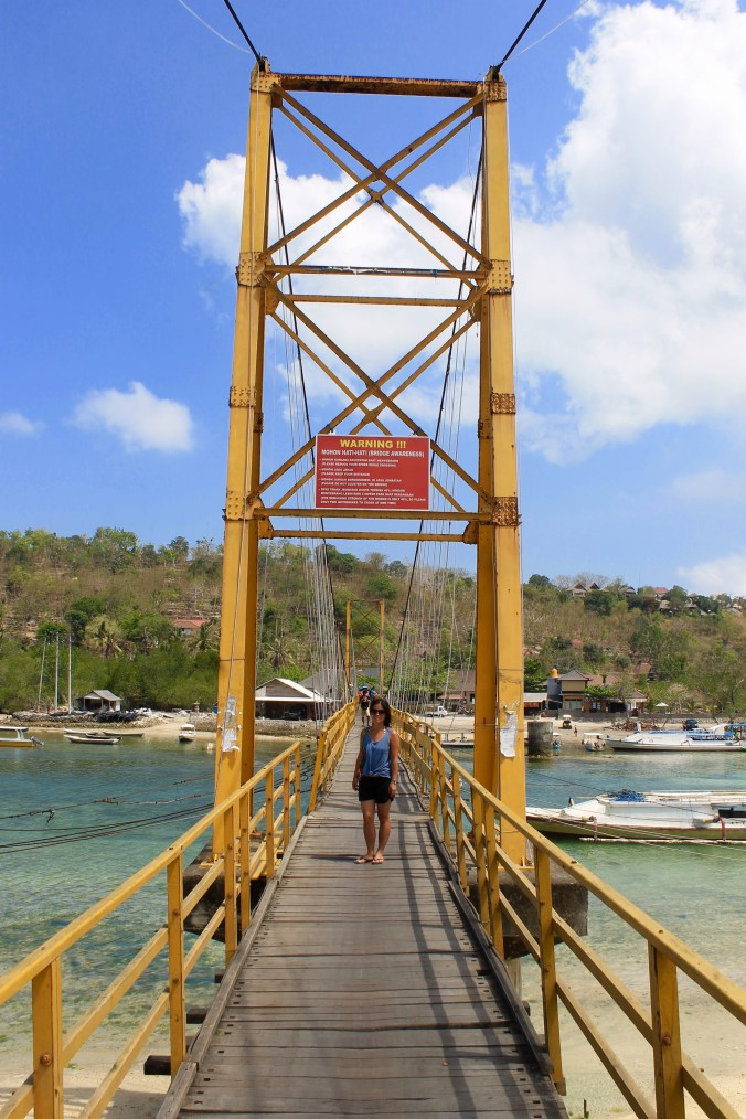 Suspension Bridge Nusa Lembongan Bali