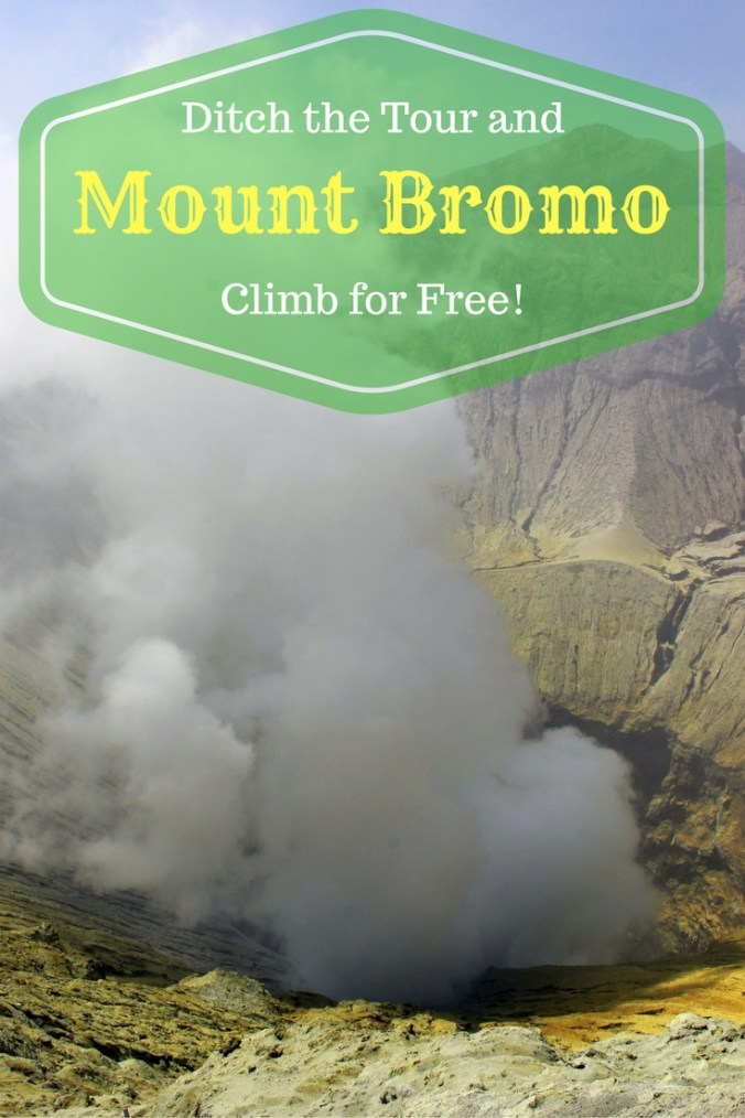 Mount Bromo National Park is best explored on your own two feet – here's how to avoid the 320,000 IDR fee & still see 2 volcano views, cross the Sea of Sand & look into the mouth of an active crater.